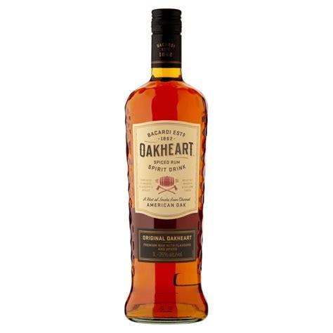 bacardi oakheart morrisons bacardi oakheart 1l product information