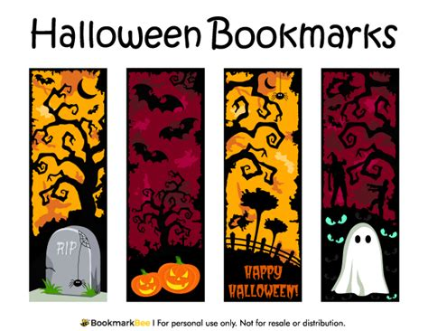 printable rocket bookmarks free printable halloween bookmarks download the pdf