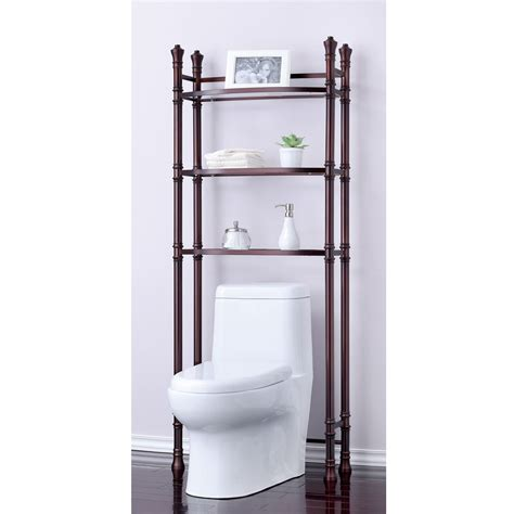 over the toilet standing shelf over the toilet bathroom contemporary bathroom rack space saver shelf over toilet