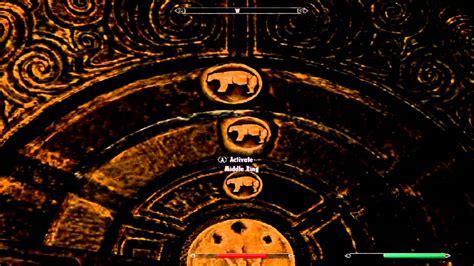 skyrim the golden claw door puzzle