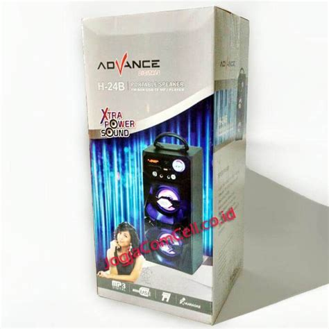 speaker portable advance h 24b jogjacomcell co id