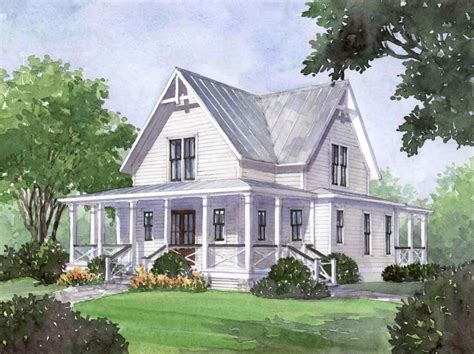 Fashioned Farmhouse Plans by Fashioned Farmhouse Plans Arch Dsgn
