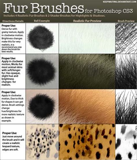 20 useful photoshop pattern sets to download ninja crunch 15 sets of free fur photoshop brushes designbeep