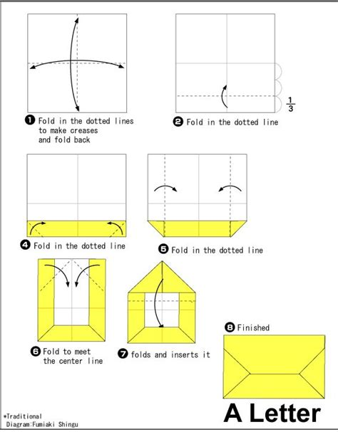 How Do You Make An Origami Envelope - 17 best ideas about origami envelope on