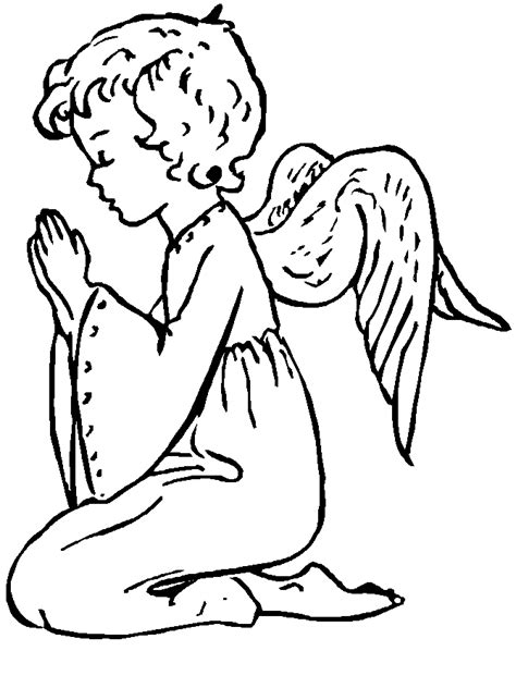 imagenes para colorear religiosas catolicas dibujo de un ni 241 o rezando imagui