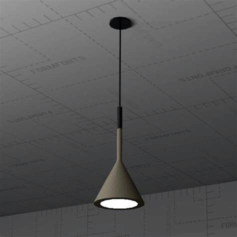 Revit Light Fixture Families Aplomb Pendant Light 3d Model Formfonts 3d Models Textures