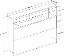 bookcase headboard plans pdf diy plans for bookcase headboard plans a