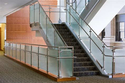 steel banister ideas beautiful glass stair railing design exles to