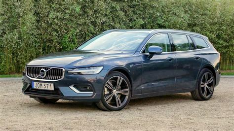 2019 Volvo V60 D4 by 2019 Volvo V60 D4 Denim Blue Exterior Interior Drive