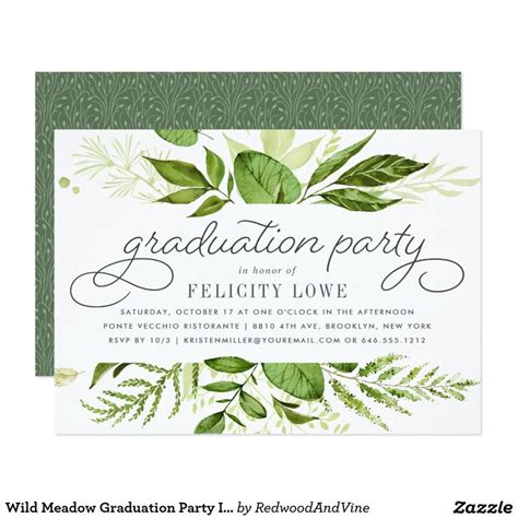 nature themed bridal shower invitations 17 best images about graduation ideas on