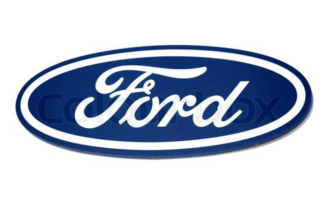 ford logo brand of american car stock photo colourbox