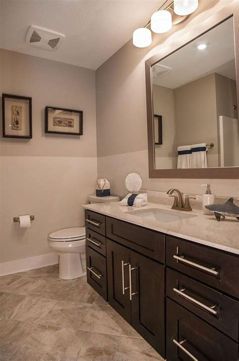 bathroom vanities cleveland ohio full bath with dark wood cabinets the belleville floor