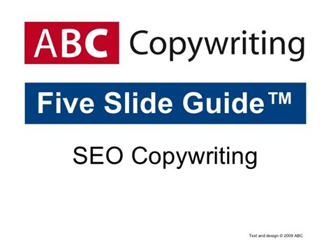 freelancing for beginners the definitive guide to copywriting books seo copywriting five slide guide