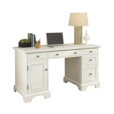 white pedestal desk pedestal desk white finish 5530 18