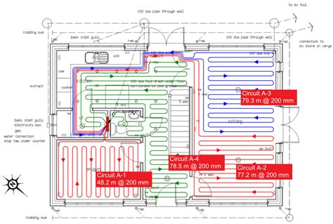 layout for underfloor heating underfloor heating pipe layout underfloor heating