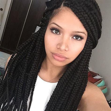 box braids hairstyles for round faced light skins natural hair bantu braids toppik blog