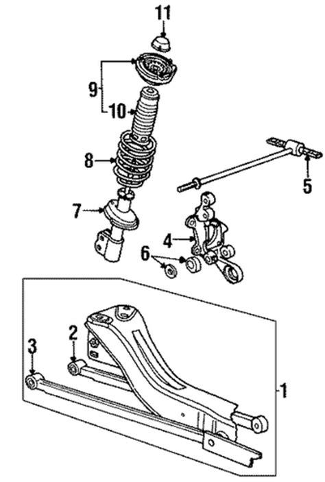 2001 saturn sl1 parts rear suspension parts for 2001 saturn sl1