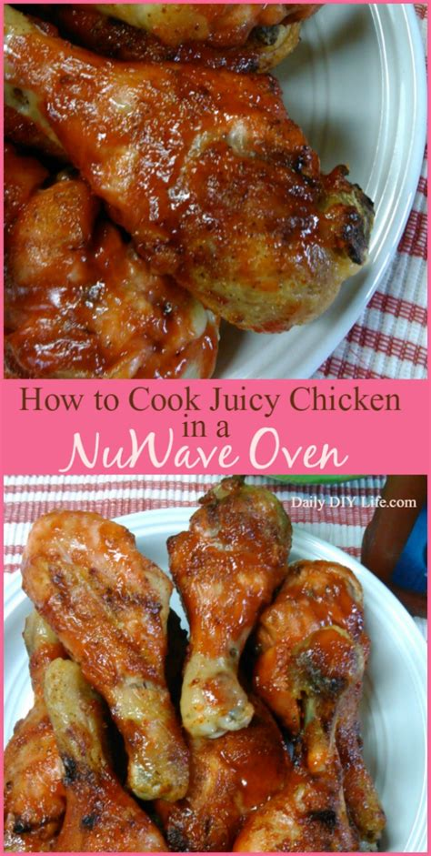 how to cook mouth watering chicken using a nuwave oven