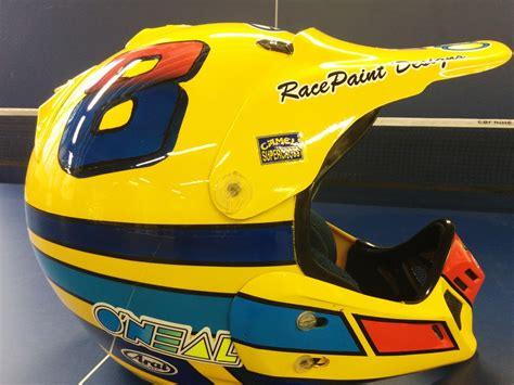vintage motocross helmet vintage arai helmet paint moto motocross