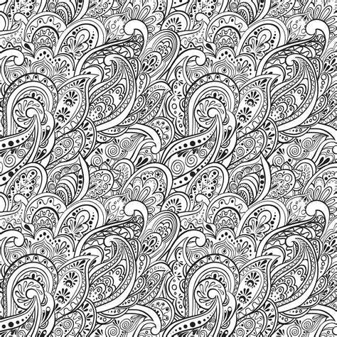 peaceful patterns coloring pages peaceful paisleys artist s coloring book paperme se