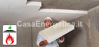 isolamento termico soffitto garage isolamento garage con silicato di calcio