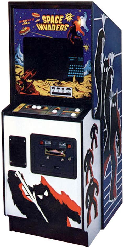 Space Invaders Cabinet by Arcade Cabinet