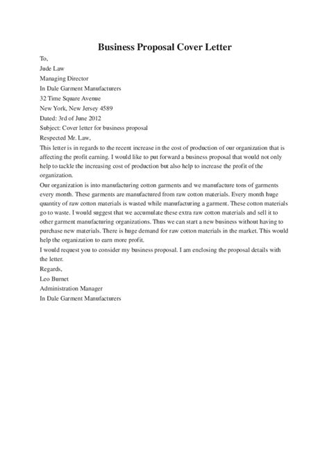 cover letter of business plan business plan cover letter