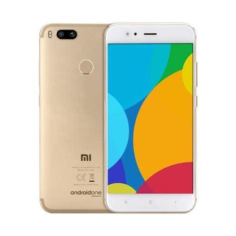 Mi A1 Xiaomi Gold Pake Bonus xiaomi mi a1 5 5 inch 4gb 64gb smartphone gold