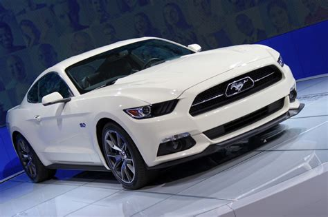 Mustang New York Auto Show 2015 by Image 2015 Ford Mustang 50 Year Limited Edition 2014 New