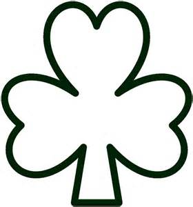 shamrock template free printable shamrock template printable shamrock