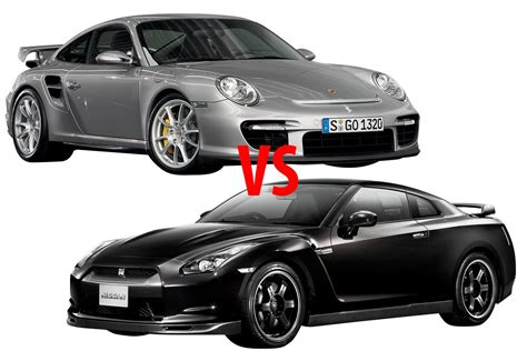Porsche 911 Turbo Vs Gtr by Porsche 911 Turbo S Vs Nissan Gt R Youtube