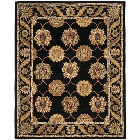Black Wool Area Rugs Safavieh Tufted Heritage Black Wool Area Rugs Hg314a Ebay