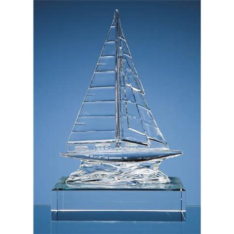 cm waterford crystal sailing yacht uk corporate gifts