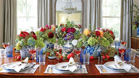 southern living christmas house by carithers flowers christmas in the dining room southern living