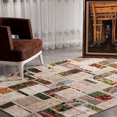 teppiche kombinieren patchwork teppich als moderne und kreative l 246 sung f 252 r ihr