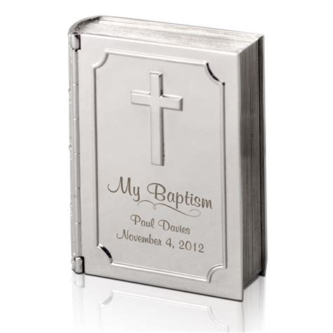 personalized silver gifts silver personalized baptism bible keepsake box