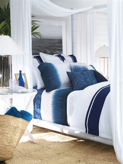 indigo blue bedroom ralph lauren indigo bedding splendid habitat interior