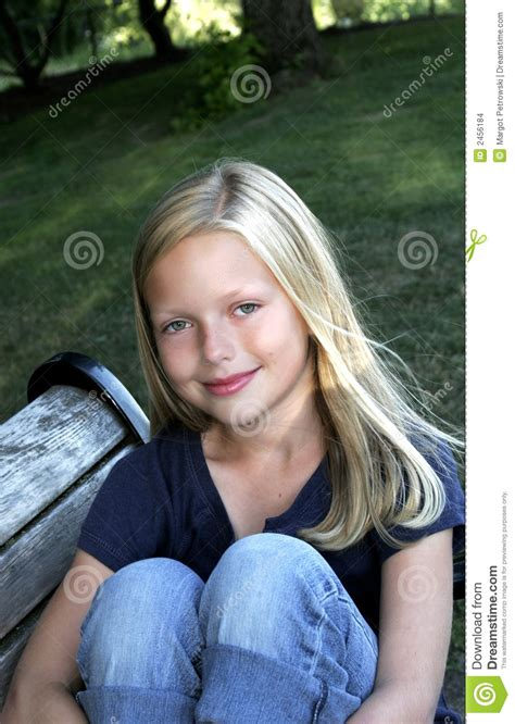 bench girl bench girl 1 stock images image 2456184