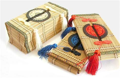 Tissue Paper Box Craft - bamboo tissue box tissue holder paper box folk crafts