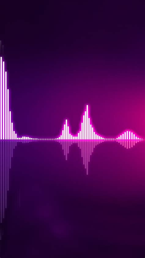 wallpaper for iphone 6 music music equalizer purple iphone 6 wallpaper hd free