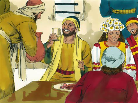 Wedding At Cana Free Clipart by Free Bible Images Free Bible Illustrations At Free Bible