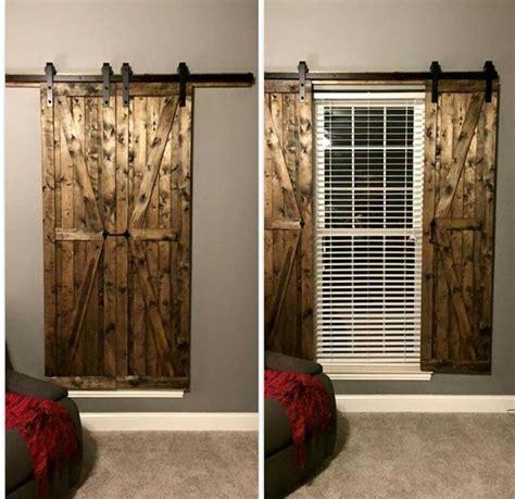 Barn Door Window Treatments The World S Catalog Of Ideas