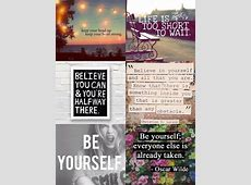 Positive Quotes Collage. QuotesGram Instagram Quotes About Love