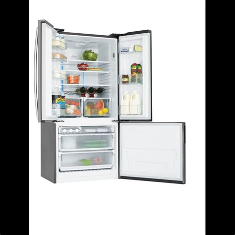 how to change refrigerator door swing 510l stainless steel french door fridge with swing freezer