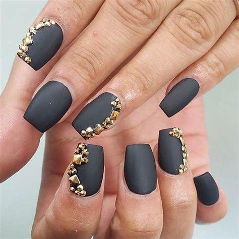 matte nail 20 astonishing matte nail designs that you will