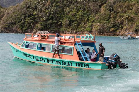 glass bottom boat tours tobago tobago fishing sailing watersports the definitive guide