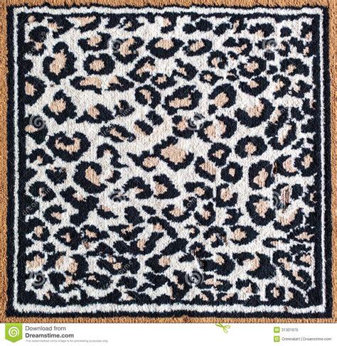 white leopard rug black and white leopard tiger rug stock image image 31301975