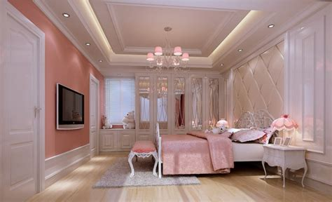 Beautiful Bedroom Interior Design Images The Most Beautiful Pink Bedroom Interior Design 2013