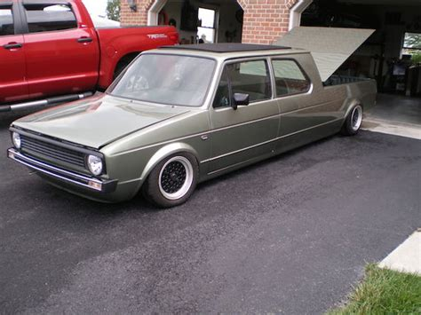 volkswagen rabbit truck custom custom 1983 volkswagen rabbit german cars for