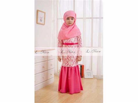 Gamis Anak 26 jual gamis anak brukat renda putih hotpink free jilbab baju muslim anak susan t eskridge